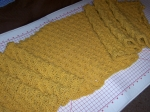 Yellow Hazelnut Shawl