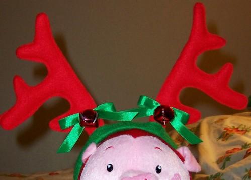 Jingling Pig Reindeer!